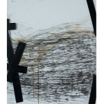 etching, paint on plexi glass 60 x 70