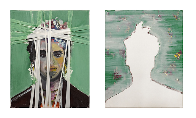Frida, 24 x 30 oil on canvas